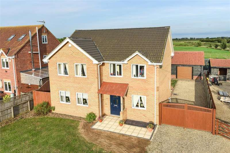 4 Bedrooms Detached House for sale in Coronation Avenue, Throckenholt, PE12