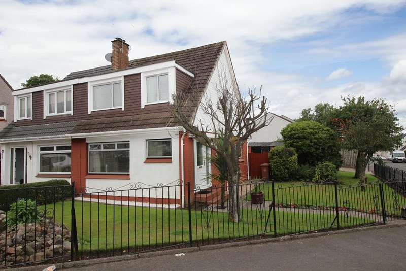 3 Bedrooms Semi Detached House for sale in 20 Farm Road, Duntocher, G81 6JX