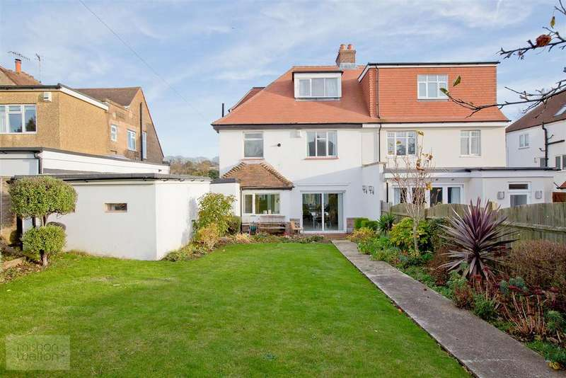 4 Bedrooms Semi Detached House for sale in Park View Road, Hove
