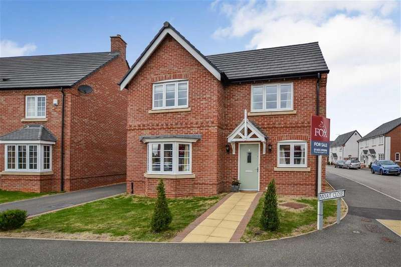 4 Bedrooms Detached House for sale in Newbold Verdon
