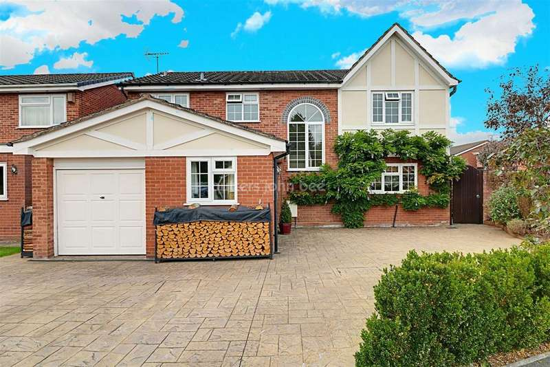 4 Bedrooms Detached House for sale in Caernarvon Road, Wistaston