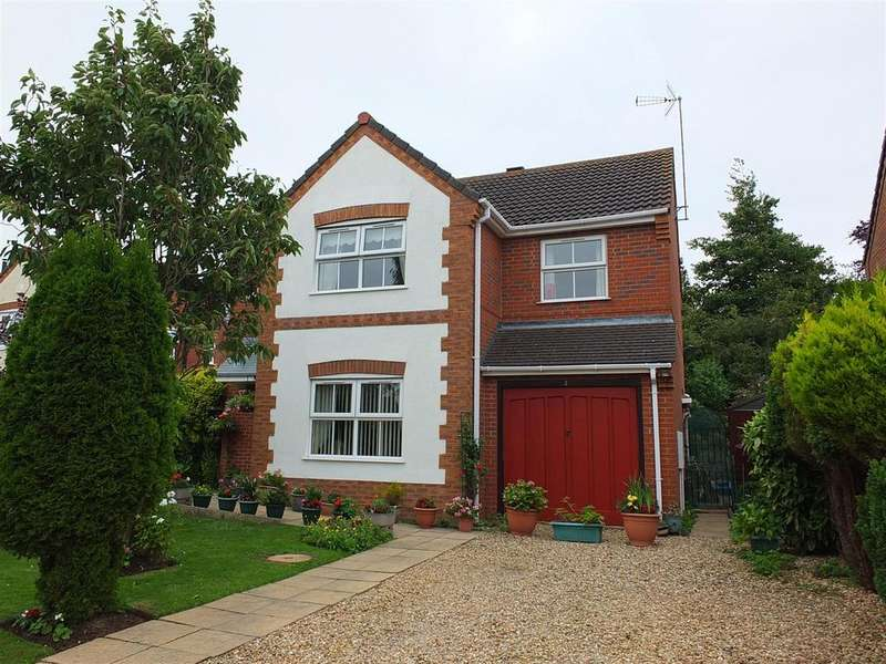 4 Bedrooms Detached House for sale in Midsummer Gardens, Long Sutton
