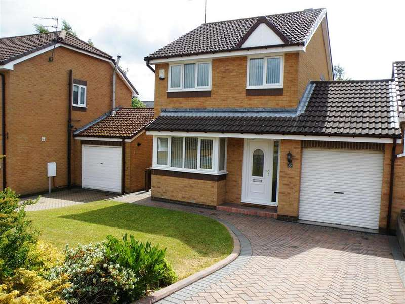 3 Bedrooms Link Detached House for sale in Beechburn Park, Crook