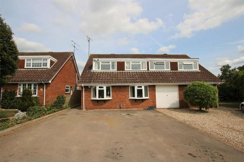 4 Bedrooms Semi Detached House for sale in Goddard Close, Shinfield, READING, Berkshire