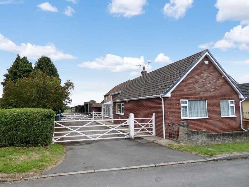 2 Bedrooms Detached Bungalow for sale in Station Road, Walkeringham