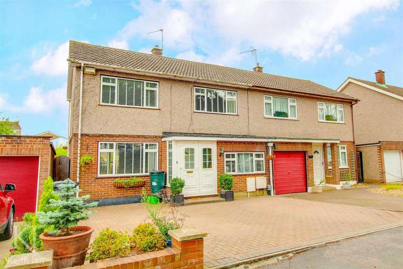 4 Bedrooms Semi Detached House for sale in Popes Row, Ware - Sought after cul de sac on Kingshill