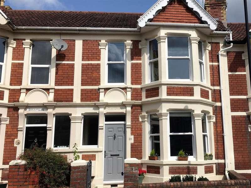 3 Bedrooms Terraced House for sale in Grove Park Avenue, Brislington, Bristol