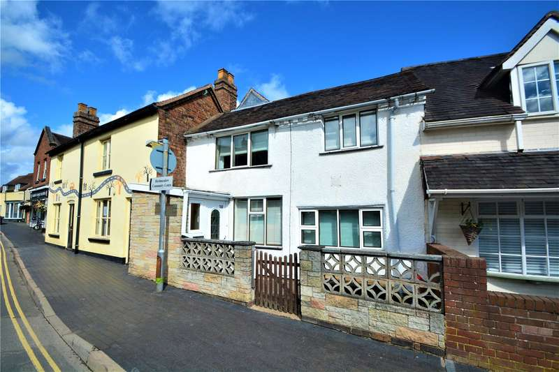 2 Bedrooms Terraced House for sale in 58 High Street, Broseley, Shropshire, TF12