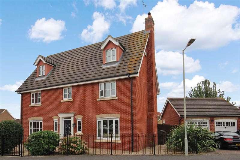 6 Bedrooms Detached House for sale in Jeavons Lane, Grange Farm, Kesgrave, Ipswich