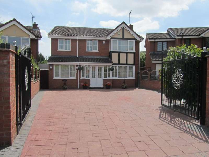6 Bedrooms Detached House for sale in Tewkesbury Drive, Bedworth