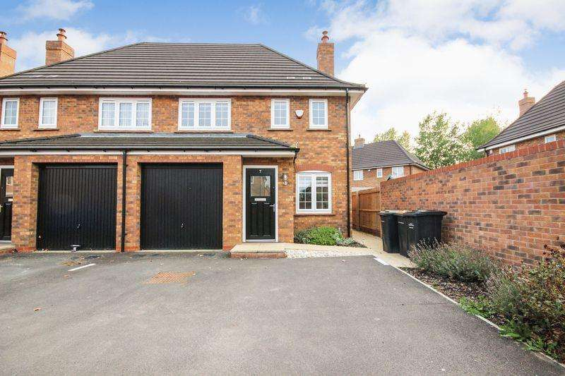 3 Bedrooms Semi Detached House for sale in Rustic Close, Stewartby