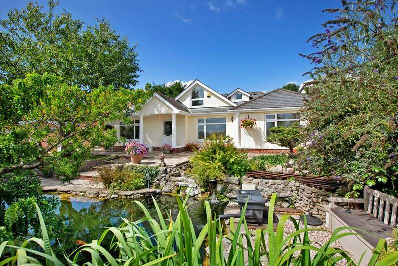 5 Bedrooms Detached Bungalow for sale in Coombesend Road, Kingsteignton