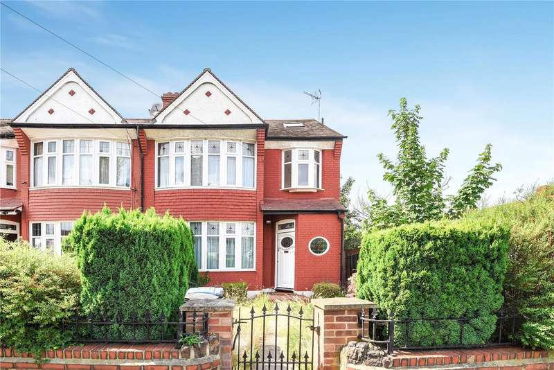 4 Bedrooms End Of Terrace House for sale in Connaught Gardens, Palmers Green, London, N13