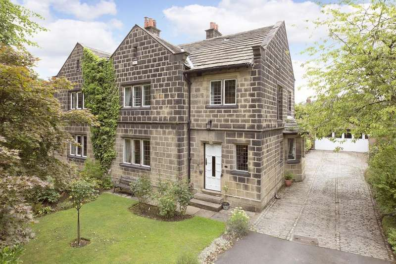 4 Bedrooms Semi Detached House for sale in Esholt Avenue, Guiseley