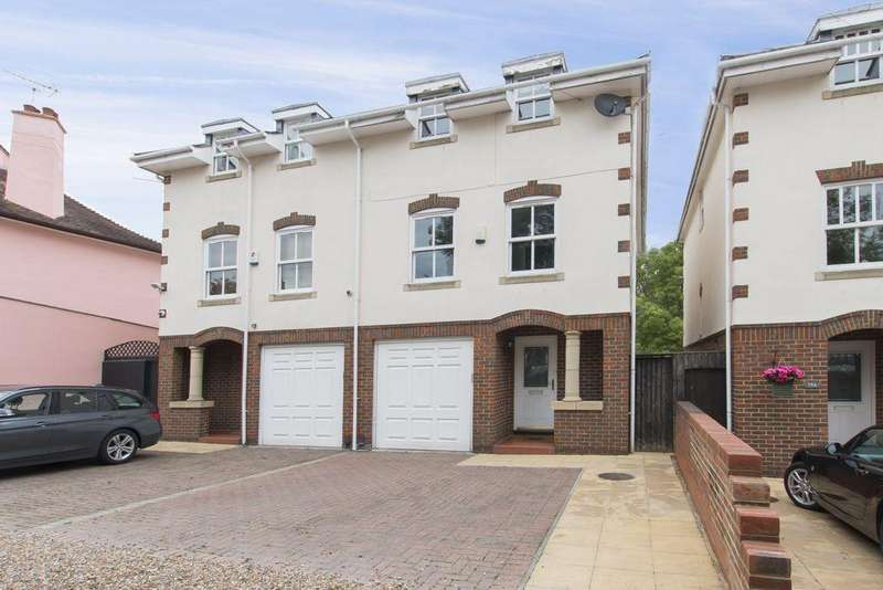 5 Bedrooms Semi Detached House for sale in Palmerston Road, Buckhurst Hill, IG9