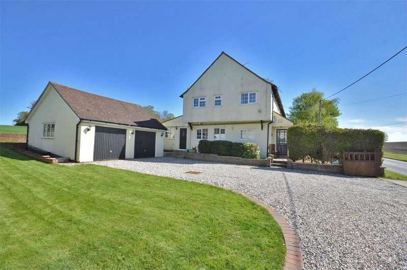 4 Bedrooms Semi Detached House for sale in Manor Cottages, Elder Street, Debden, Nr Saffron Walden, Essex, CB11