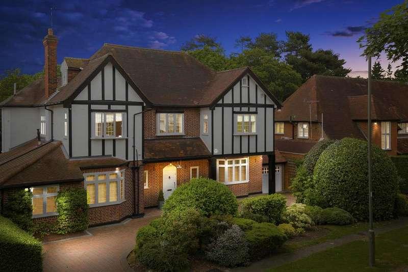 6 Bedrooms Detached House for sale in Pine Grove, Totteridge, N20