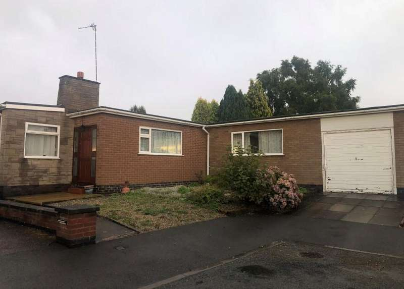 3 Bedrooms Bungalow for sale in Hawthorn Close, Kirby Muxloe, Leicester, LE9 2HT