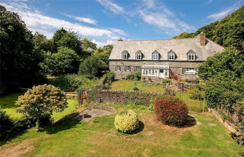 5 Bedrooms Link Detached House for sale in Old Traine, Modbury, Devon, PL21