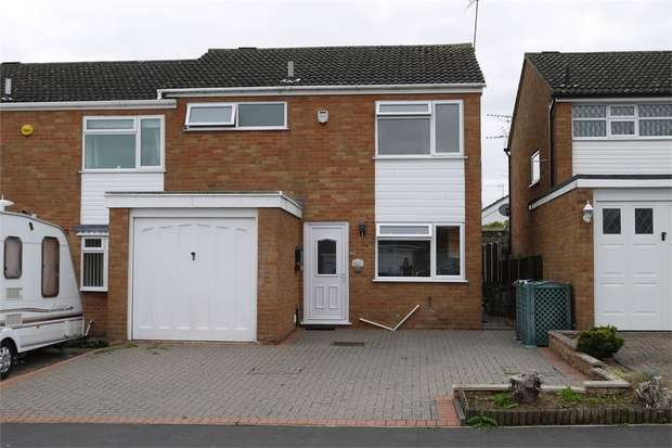 3 Bedrooms Semi Detached House for sale in Western Avenue, Fleckney, LEICESTER