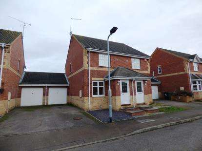 2 Bedrooms Semi Detached House for sale in Meadenvale, Parnwell, Peterborough, Cambridgeshire