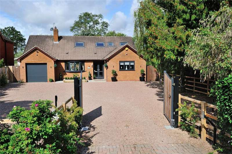 4 Bedrooms Detached Bungalow for sale in Bradley Green, Worcestershire