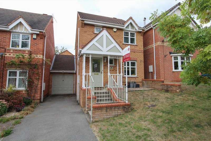 3 Bedrooms Detached House for sale in Mallory Close, Chesterfield