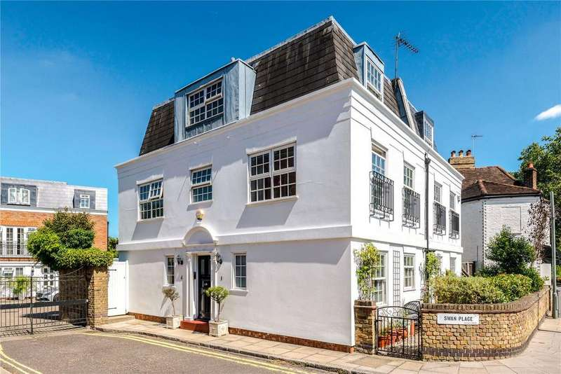 4 Bedrooms Semi Detached House for sale in Swan Place, Barnes, London, SW13