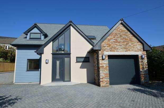 4 Bedrooms Detached House for sale in Shop Park, Lower Tremar, Liskeard, Cornwall