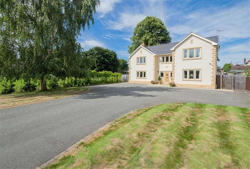 5 Bedrooms Detached House for sale in Connah's Quay Road, Northop, Mold