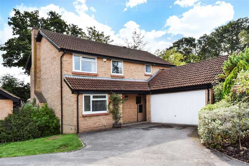 4 Bedrooms Detached House for sale in Minwear, Pinewood Avenue, Crowthorne