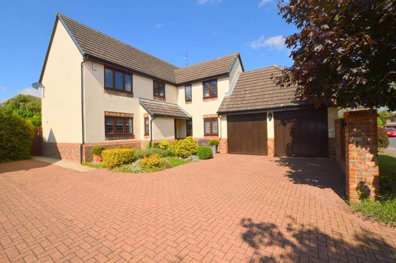 5 Bedrooms Detached House for sale in Holford Way, Barton Hills, Luton, LU3 4EB