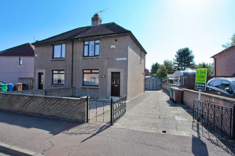 2 Bedrooms Semi Detached House for sale in Lime Grove, Methil, Leven