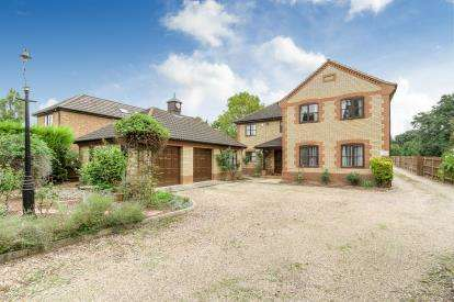 5 Bedrooms Detached House for sale in Paxton Hill, Great Paxton, St. Neots, Cambridgeshire