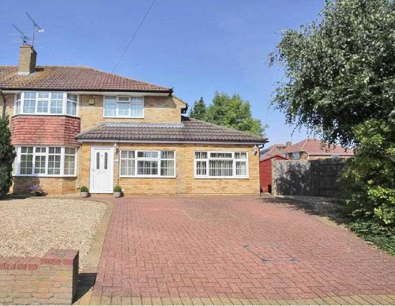 4 Bedrooms Semi Detached House for sale in Ravenbank Road, Luton
