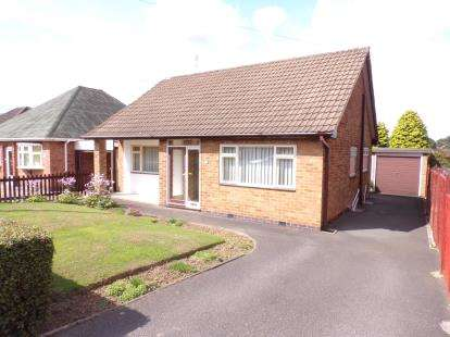 2 Bedrooms Bungalow for sale in Duport Road, Burbage, Hinckley, Leicestershire