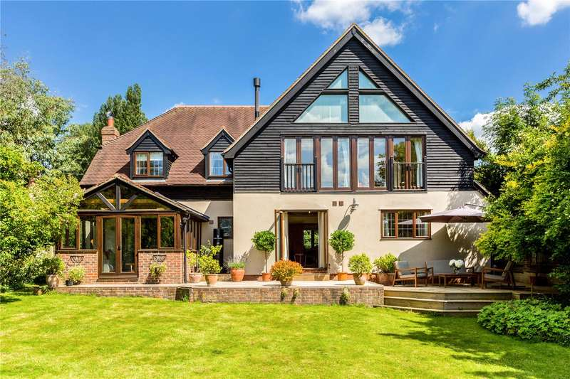 5 Bedrooms Detached House for sale in Ashmore Green Road, Ashmore Green, Thatcham, Berkshire, RG18