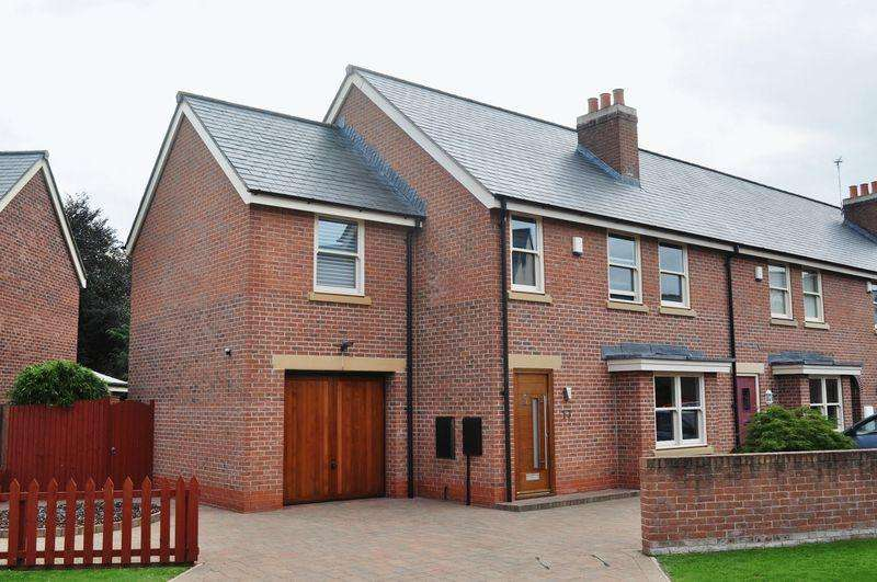 4 Bedrooms Semi Detached House for sale in Mill Weir Gardens, Sefton Village
