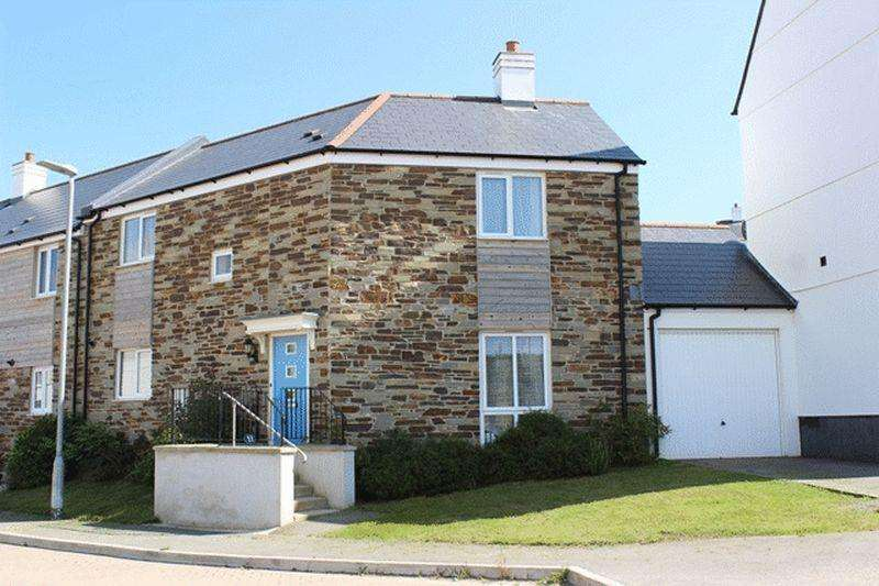 4 Bedrooms Semi Detached House for sale in Pellymounter Road, St. Austell