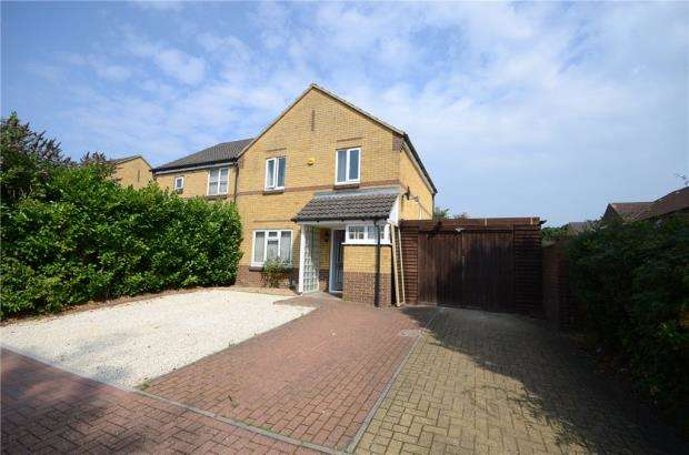 3 Bedrooms Semi Detached House for sale in Managua Close, Caversham, Reading