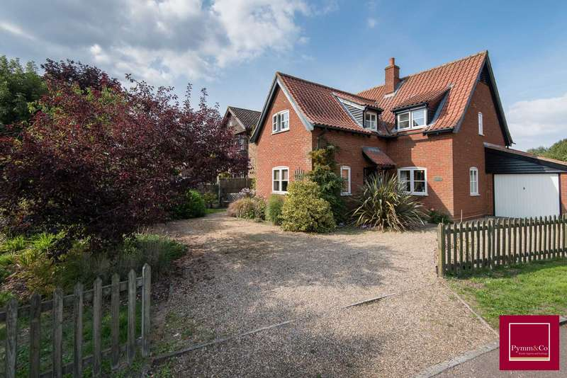 4 Bedrooms Detached House for sale in Wymondham Road, Wreningham