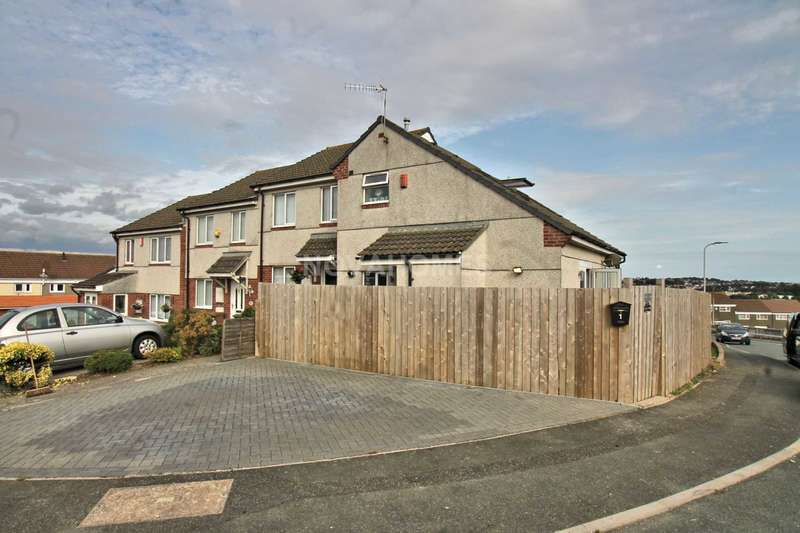 1 Bedroom End Of Terrace House for sale in Hargreaves Close, Kings Tamerton, PL5 2UB
