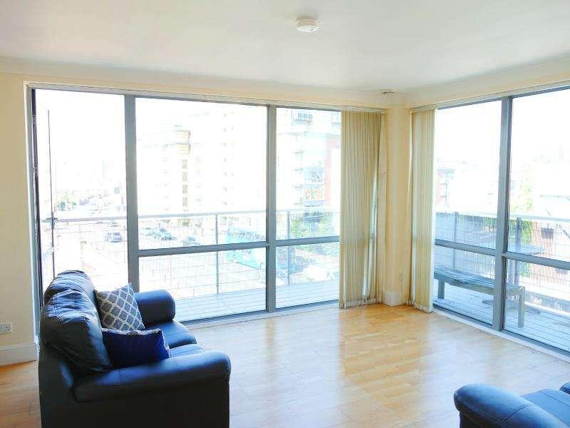 2 Bedrooms Apartment Flat for sale in MERCHANTS QUAY, EAST STREET, LEEDS, LS9 8BB