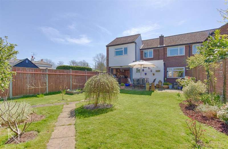 3 Bedrooms Semi Detached House for sale in Burns Green, Benington