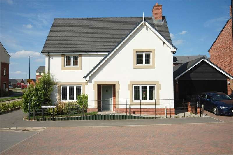 4 Bedrooms Detached House for sale in Spinney Lane, Eden Park, RUGBY, Warwickshire