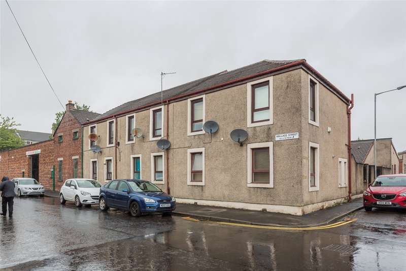 2 Bedrooms Flat for sale in Wallace Street, Paisley, Renfrewshire, PA3