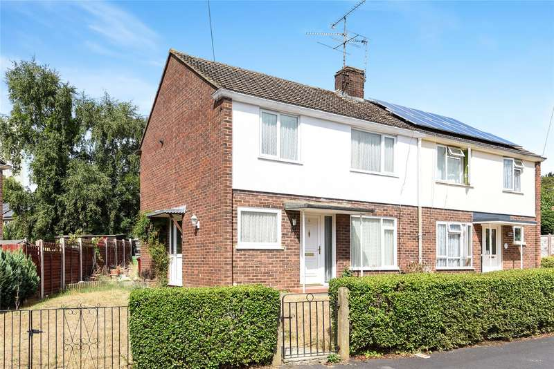 3 Bedrooms Semi Detached House for sale in Heron Way, Reading, Berkshire, RG1