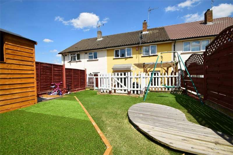 3 Bedrooms Terraced House for sale in Kymswell Road, STEVENAGE, Hertfordshire