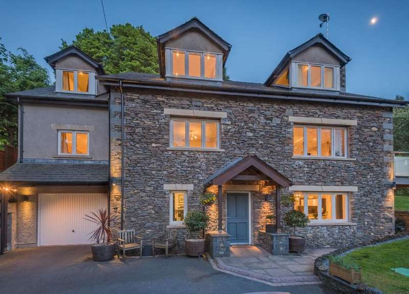 4 Bedrooms Detached House for sale in Poole Brae, Storrs Park, Bowness-on-Windermere, LA23 3LL