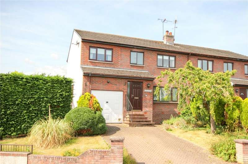 4 Bedrooms Semi Detached House for sale in 30 Fairybead Park, Stainton, Penrith, Cumbria